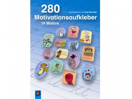 280 Motivationsaufkleber