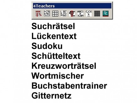 4teachers Wordtools