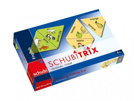 SCHUBITRIX English - Animals & Food
