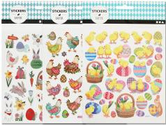 105 bunte Ostersticker