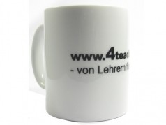 4teachers Kaffeebecher