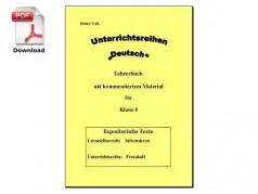 Unterrichtsreihe: Protokoll (download)