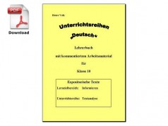 Unterrichtsreihe: Textanalyse (download)