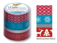 Washi Tape Weihnachten Retro
